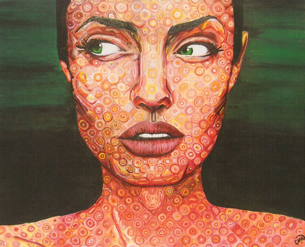 Angelina in Chuck Close Style by No-he-aprendido | ***Creative ...