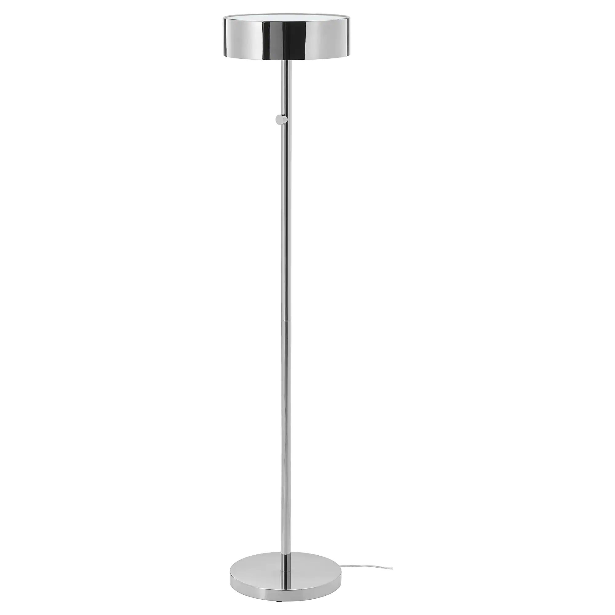 Stockholm 2017 Floor Lamp With Led Bulb Chrome Plated Ikea Ikea Stockholm Floor Lamp Led Bulb