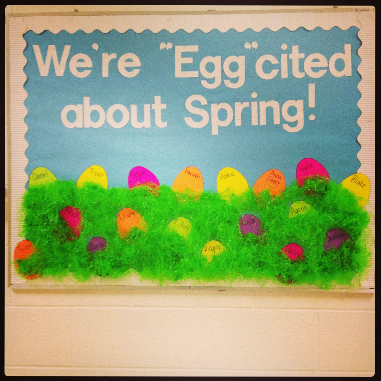 Easter Spring Bulletin Board Spring Bulletin Boards Easter