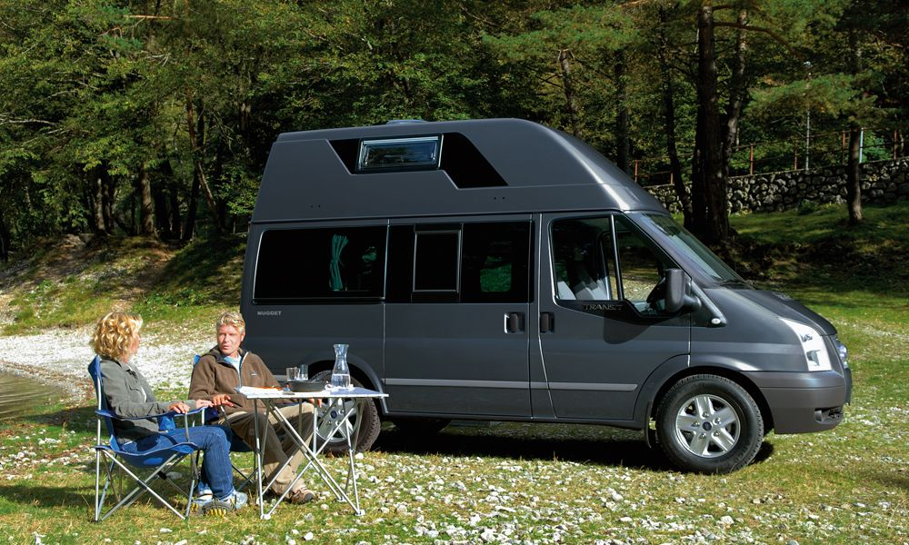 Westfalia Nugget Ford Transit Camper Med Bilder Husbil