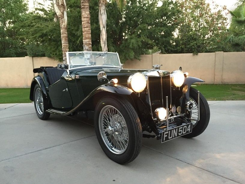 Fully restored Nigel Shiftright MGTC | MG TC | Pinterest | Cars ...