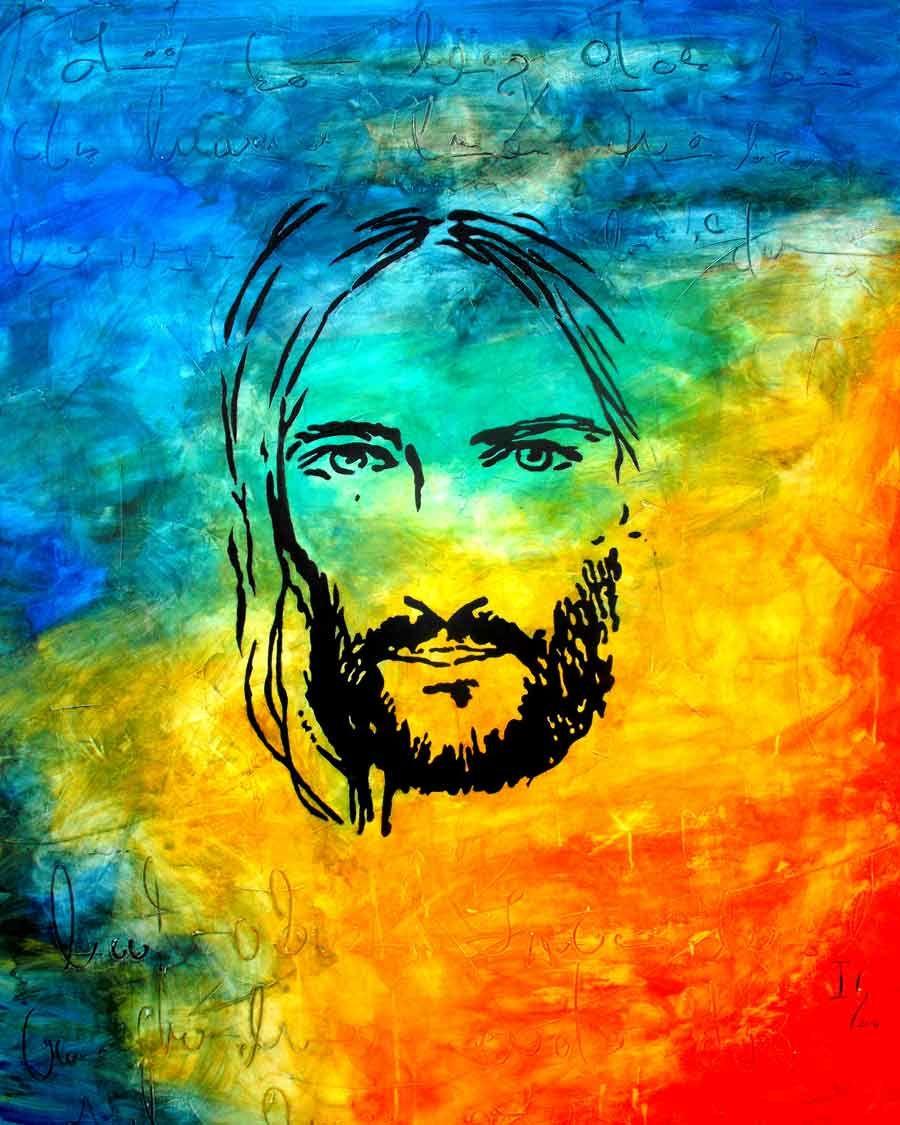 Art Pieces Pin By Barbara Hallinan On Yeshua Pinterest Jesus Painting
