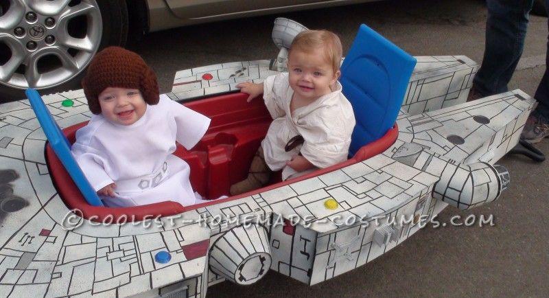 Infant Boy-Girl Twins Millennium Flyer Halloween Costume - twin boy halloween costume ideas