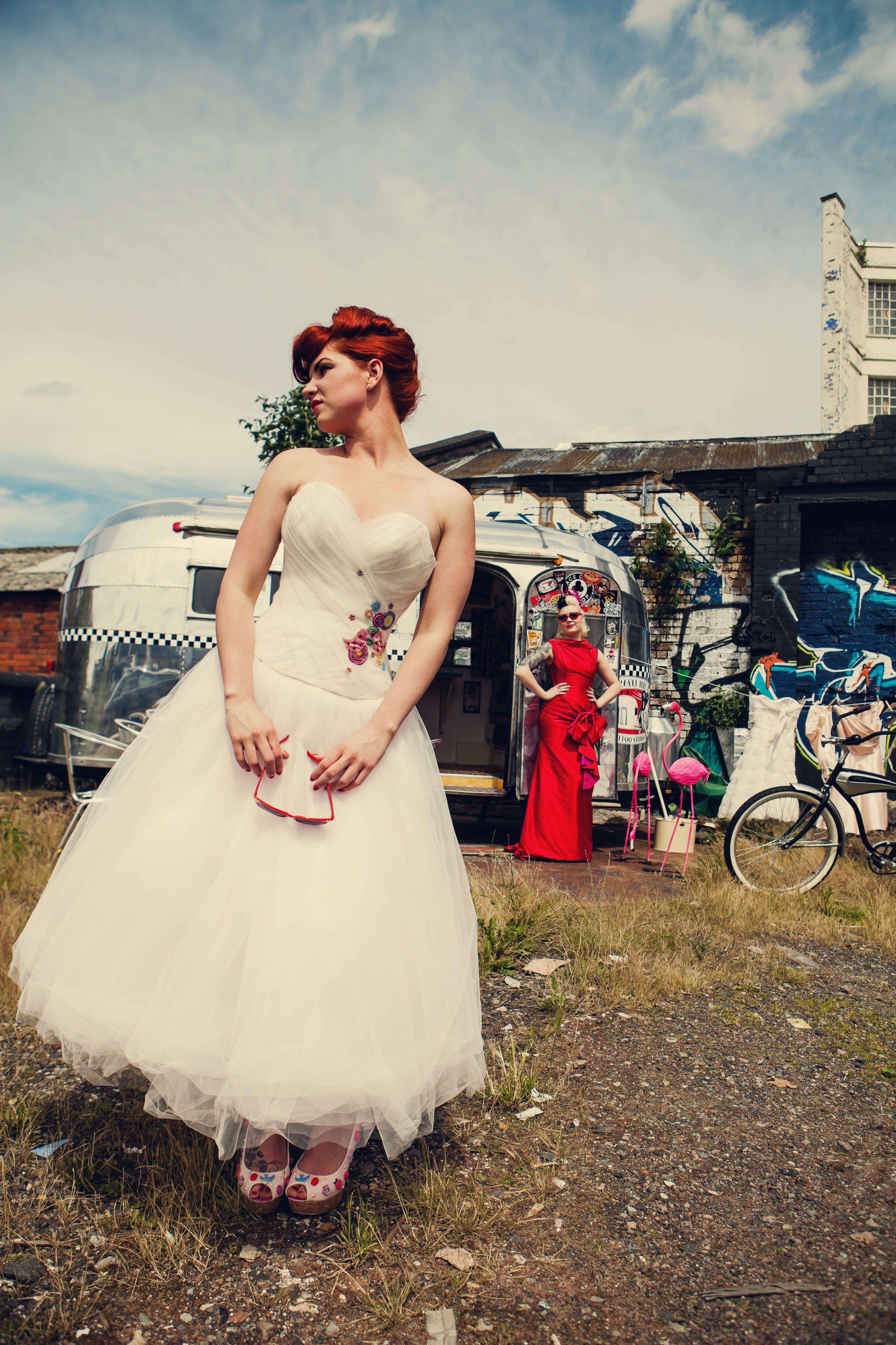 Rockabilly wedding dresses  s wedding dress  Google Search  Vintage dreams and fairytales