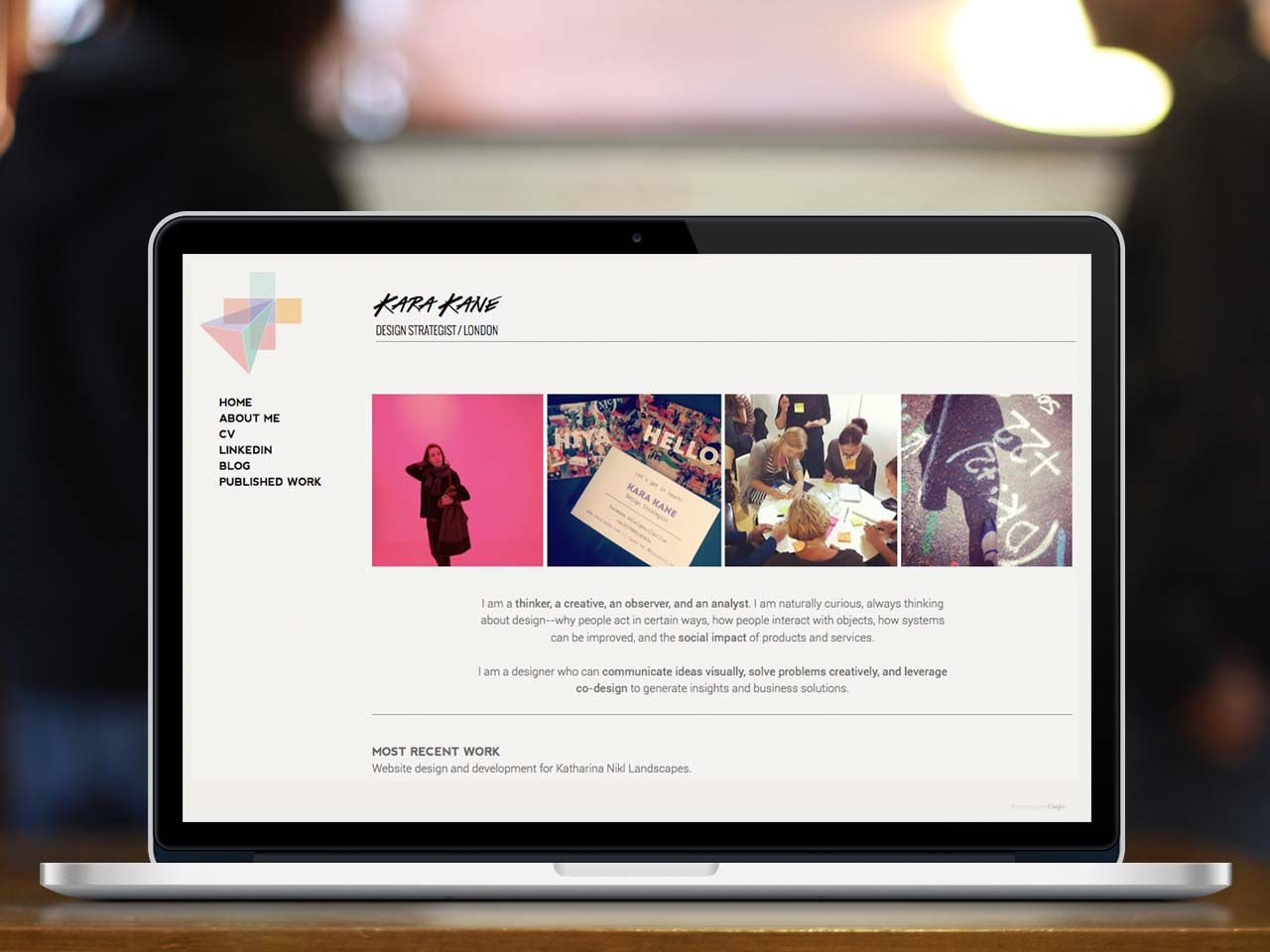 Portfolio website design // work in progress | web | Pinterest ...
