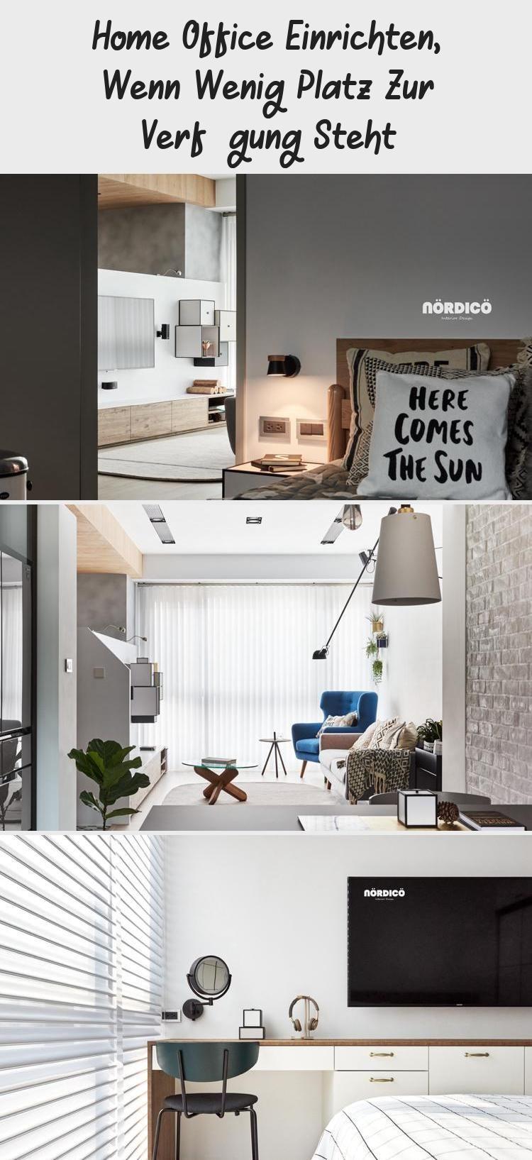 Home Office Einrichten, Wenn Wenig Platz Zur Verfügung