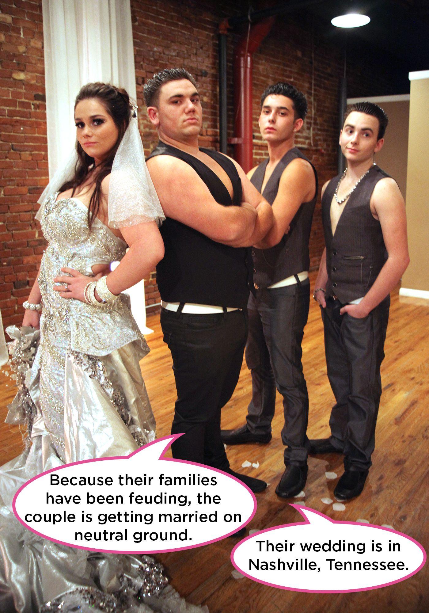 Matrimonio Gypsy Us : My big fat american gypsy wedding