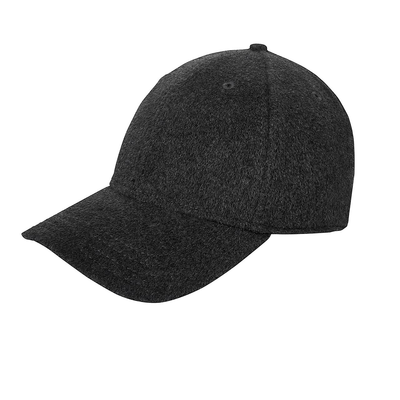 Gents - Cashmere Baseball Cap - Grey 31128c03d10