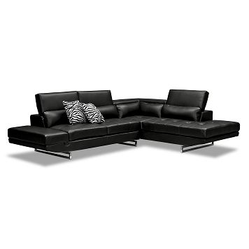 Madrid Ii Leather 2 Pc Sectional Value City Furniture Furniture Value City Furniture Home Decor Sites