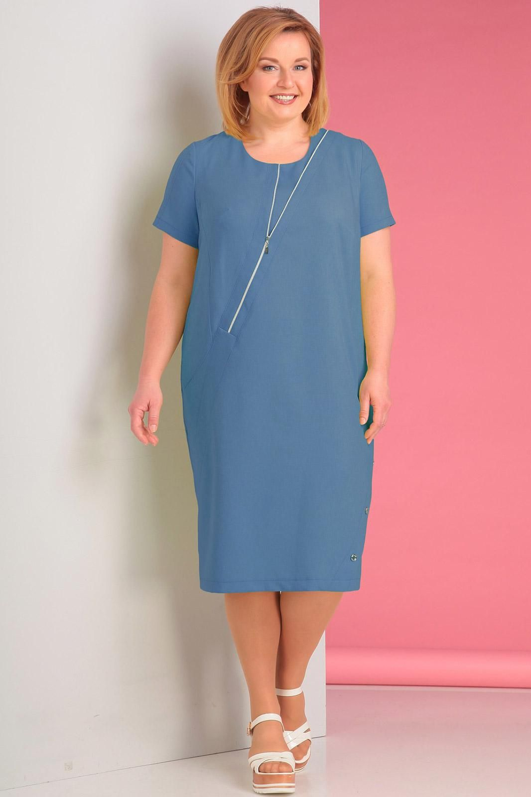 Платье novella sharm синие тона