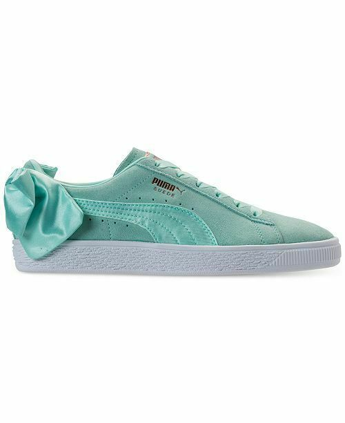 10fd58a1cf8 Puma Suede Bow Island Paradise Casual Women s Shoes Sneakers 7.5  PUMA   AthleticSneakers