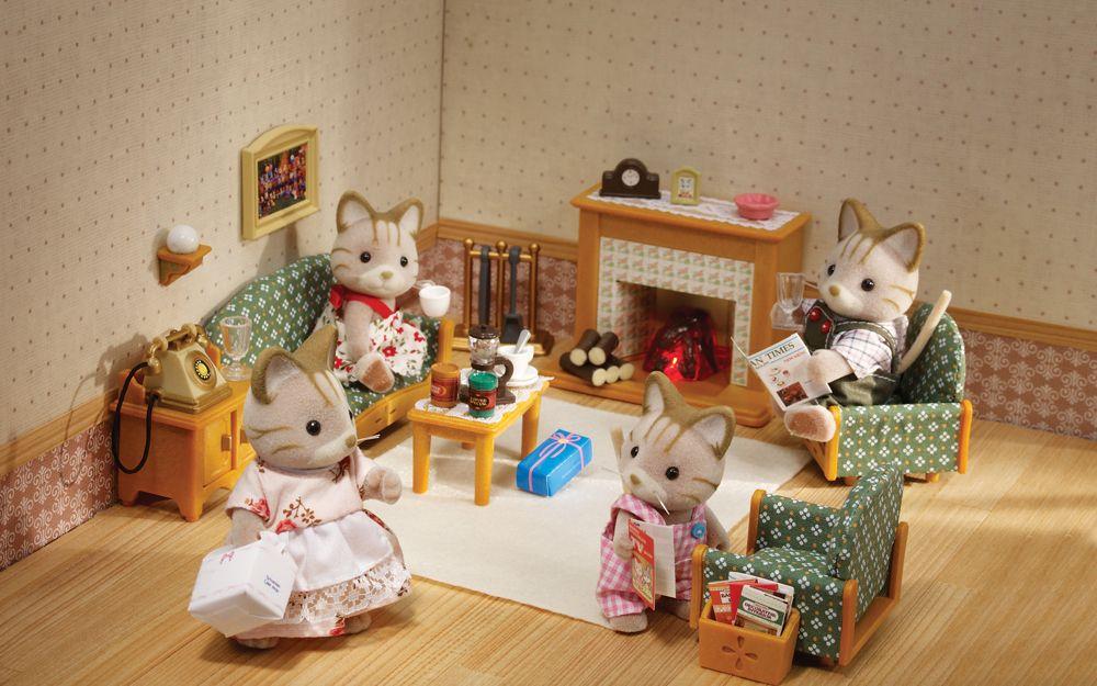 Sylvanian Families | Living room sets, Dollhouse toys ...