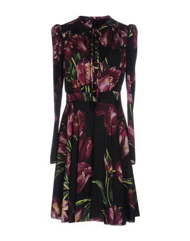 DOLCE & GABBANA Short Dress. #dolcegabbana #cloth #dress #top #skirt #pant #coat #jacket #jecket #beachwear #