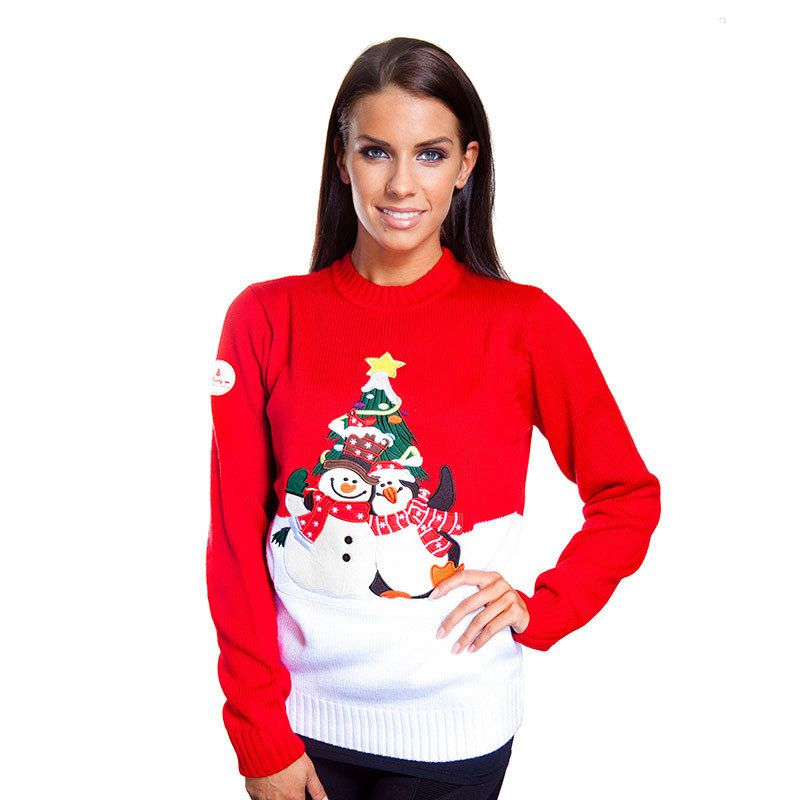 red christmas sweaters women - Google Search | christmas ...