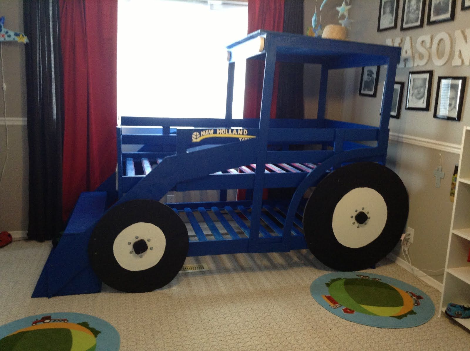 Ikea Hackers Tractor Bed Tractor Toddler Bed Tractor Bed Kid Beds