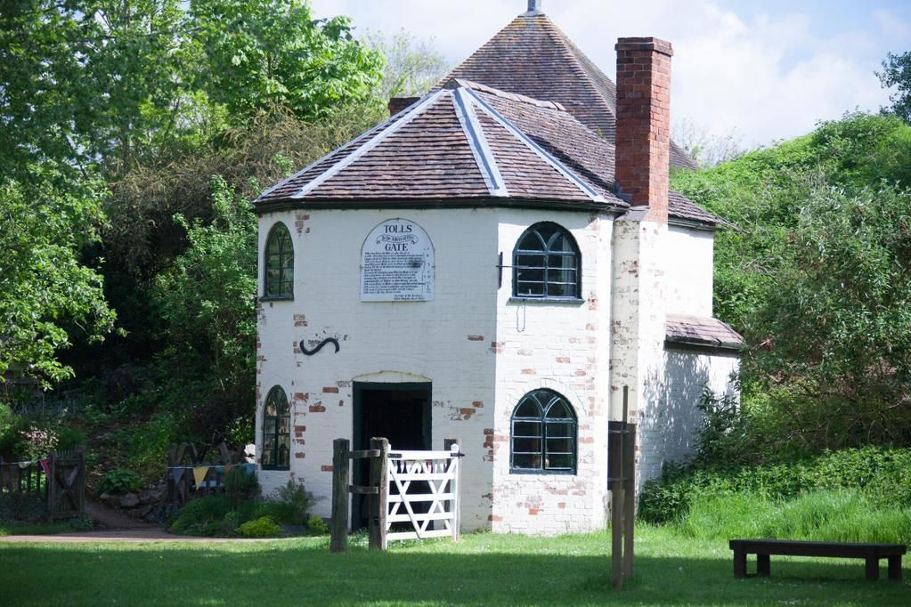 The tollhouse, formerly of Malvern, now at Avoncroft Museum of Buildings.