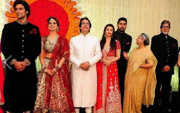 Pin On Kunal Kapoor Naina Bachchan Wedding Photos