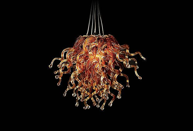 This looks like a Chihuly, so at   2,750$ retail - it's not a bad deal!