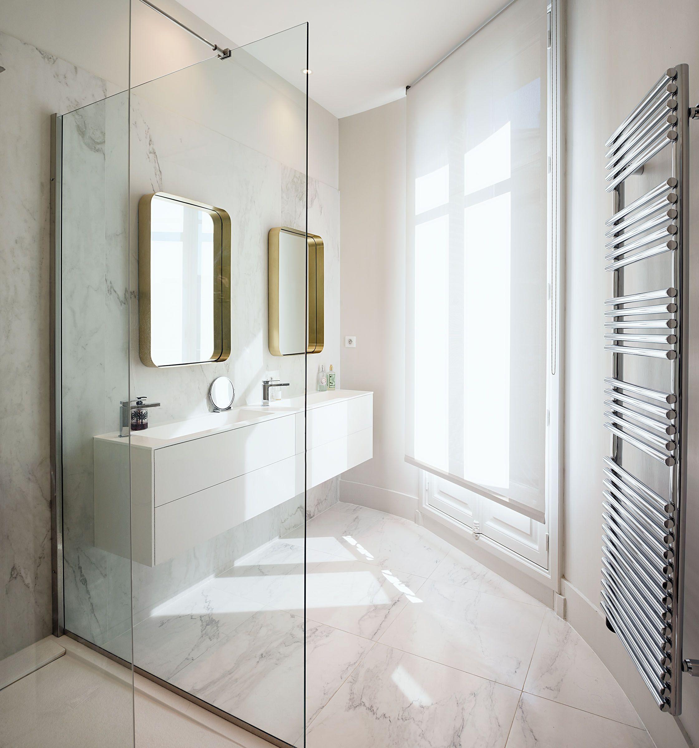 appartement paris 16 appartement r nov bathroom. Black Bedroom Furniture Sets. Home Design Ideas