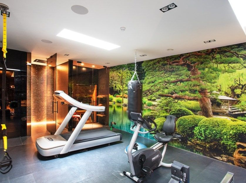 78 Home Gym Design Ideas Photos Home Gym Design Gym Design Gym Room At Home