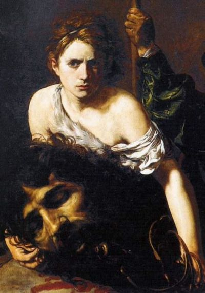 David With The Head Of Goliath By Valentin De Boulogne