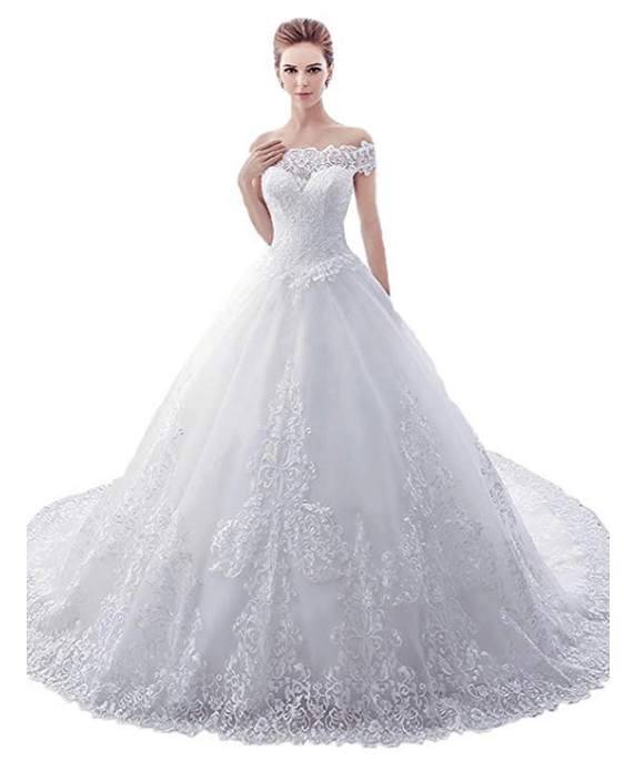 25 Ball Gown Wedding Dresses Under 200 Dollars For Budget Savvy Brides Chiclypoised Applique Wedding Dress Ball Gown Wedding Dress Ball Gowns Wedding