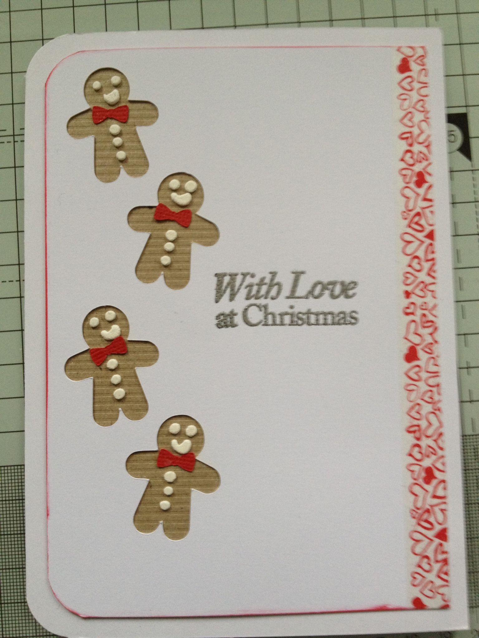 Christmas Card Handmade Christmas Card Homemade Christmas Card ...