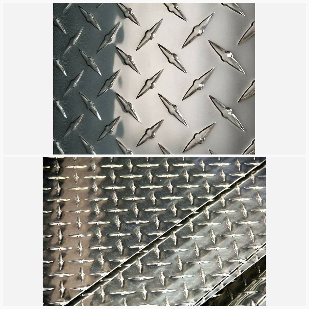 "6/""x12/"" 3003 Aluminum Diamond Tread Plate Sheet 1//8/"" .125/"""