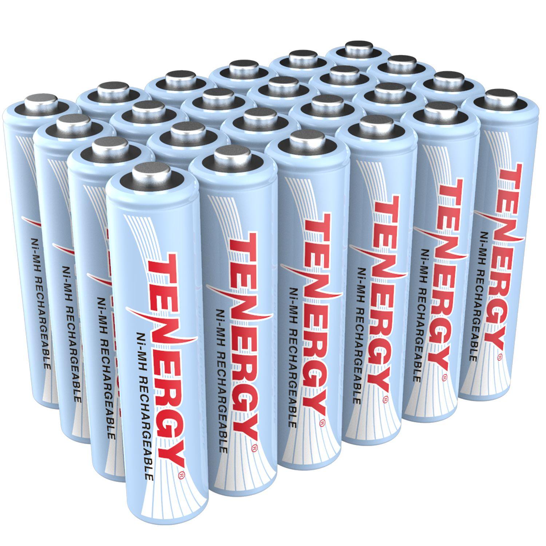 Combo 24 Pcs Tenergy Aaa 1000mah Nimh Rechargeable Batteries Rechargeable Batteries Nimh Nimh Battery