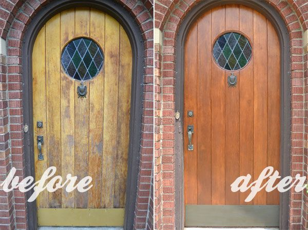 Refinishing My 81 Year Old Front Door Lansdowne Life Old Wood