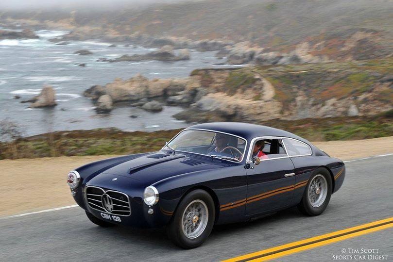 Genial The 1955 Maserati 2000 Zagato Berlinetta.