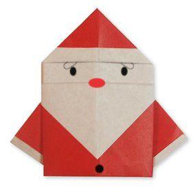 Mas Cosas Divertidas De Pairoflexia Papa Noel Completo En - Origami-papa-noel