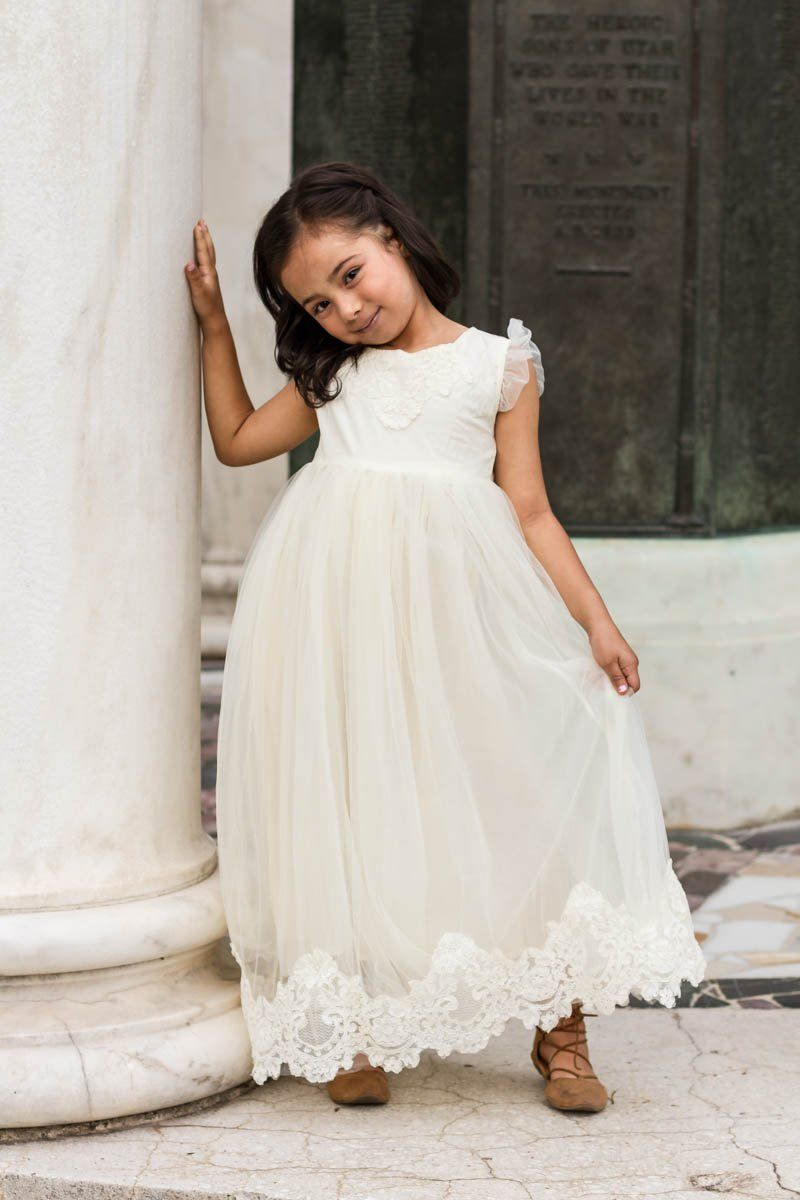 Aletta ivory sweetheart lace u tulle gown dress tulle gown