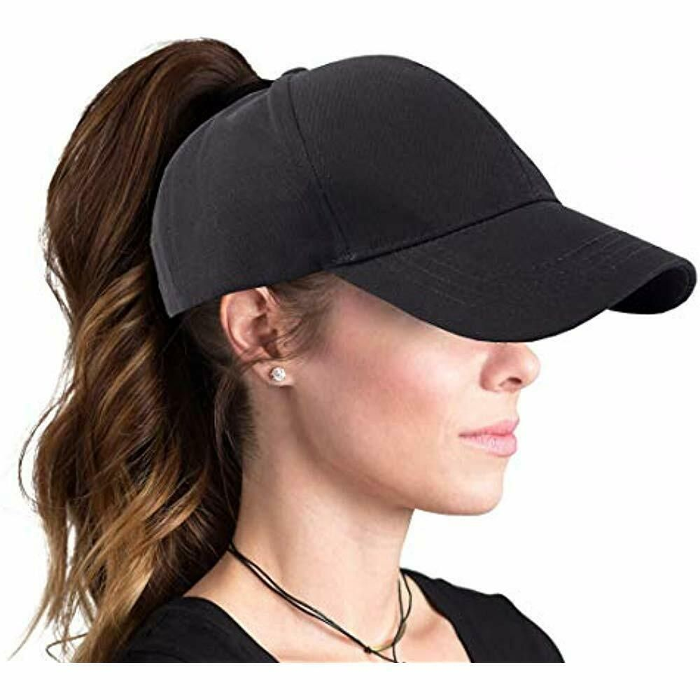 Image result for A ponytail-friendly hat