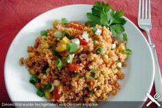 Chefkoch.de Rezept: Couscous - Salat lecker würzig