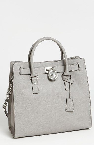 7fd57273a706 MICHAEL Michael Kors 'Large Hamilton' Saffiano Leather Tote available at  #Nordstrom