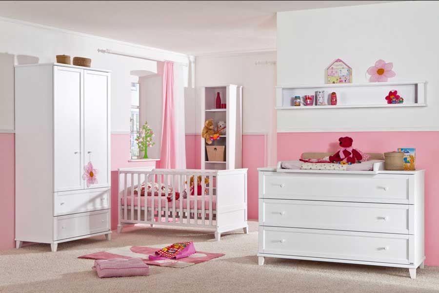 Babyzimmer Mädchen In 2020 Schlafzimmermöbel Doppelbett