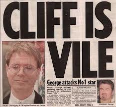 8d8938f2601dd7df8cfe96b556e63074 cliff richard is vile says george british illuminati pinterest