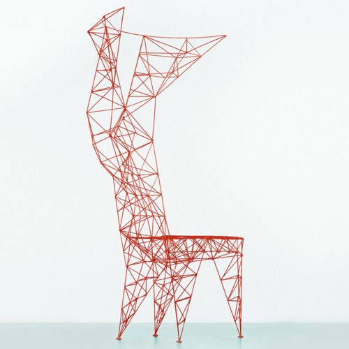 Tom Dixon, Pylon chair, 1990                           remind you of anything?