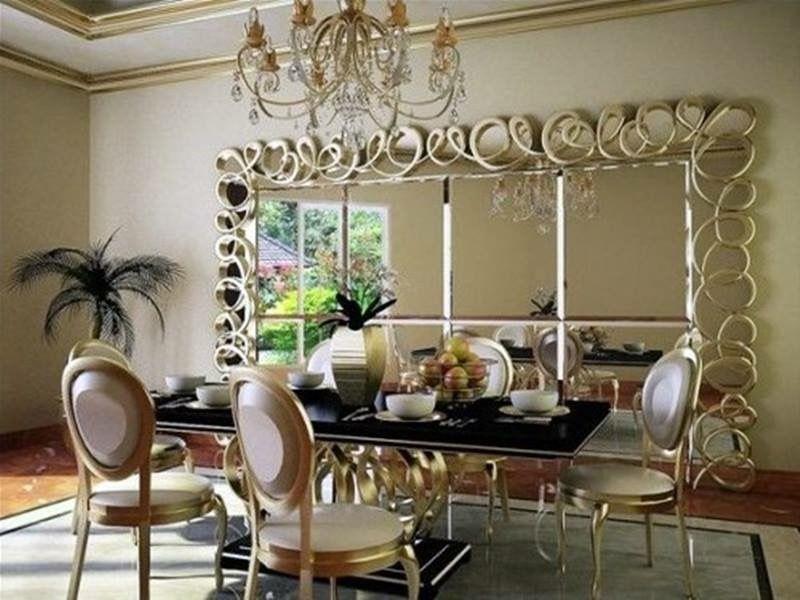 Pinfarhat 🌷💫 On Home Decor  Pinterest Custom Decorative Mirrors Dining Room Review