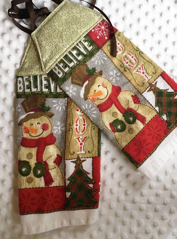 Kitchen Towel Hanging Christmas Hanging Towel Tie Kithen Towel Tie Hanging Towel Dish