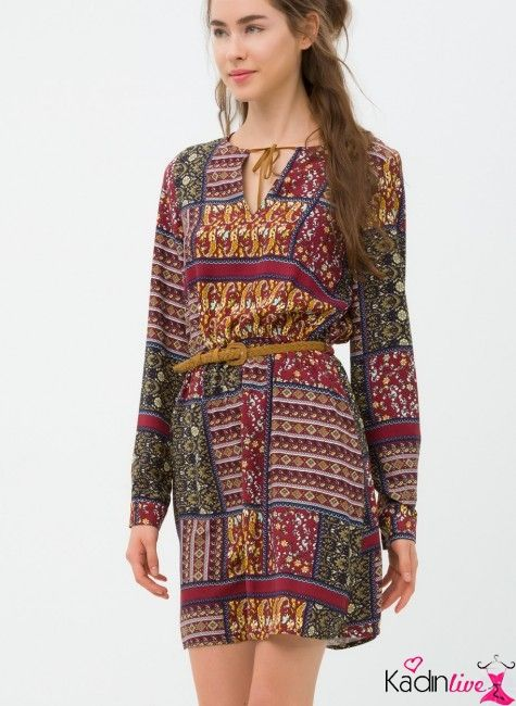 Koton Yeni Sezon Elbise Modelleri 2016 Elbise Modelleri Moda Stilleri Elbise