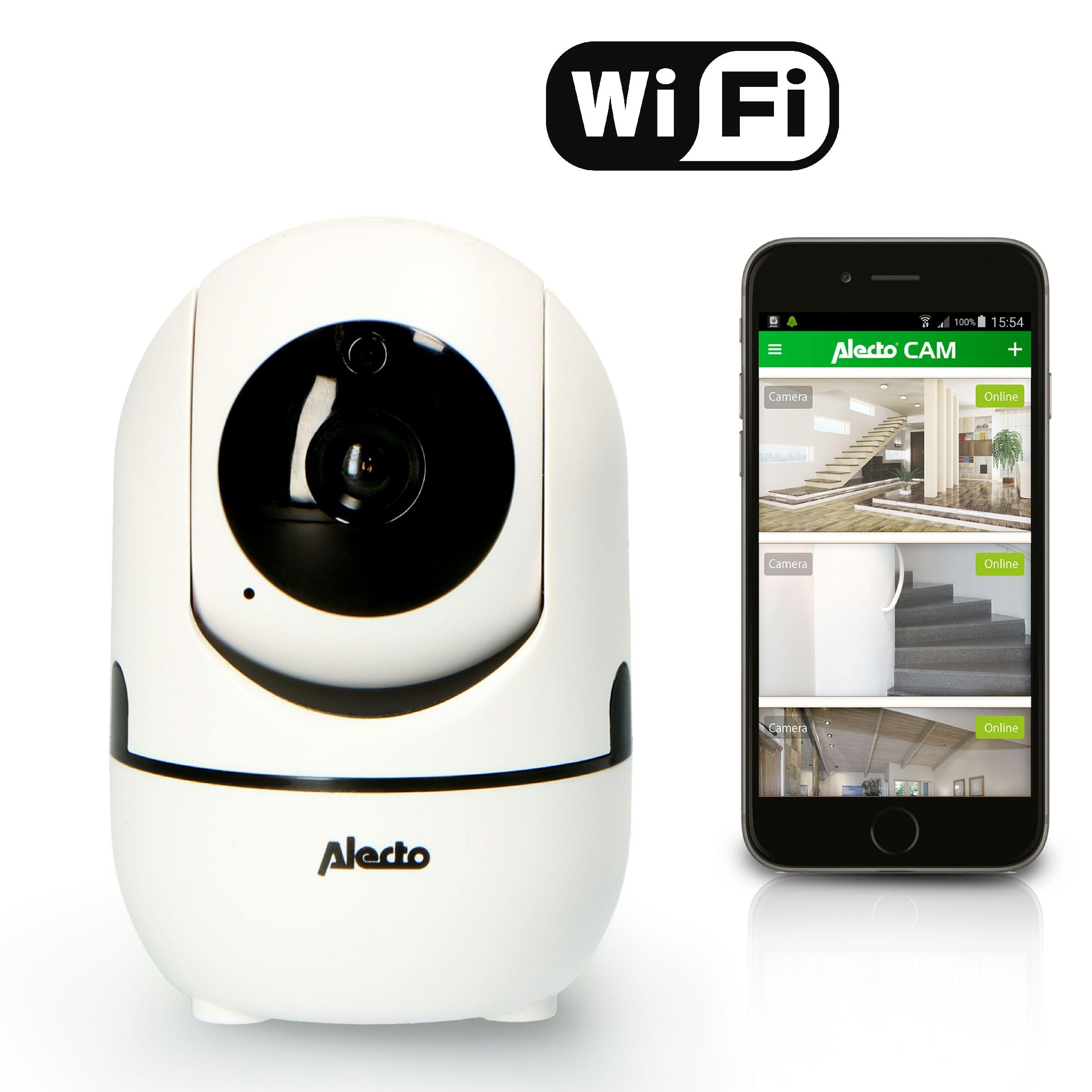 Alecto Beveiligingscamera IP DVC155IP+ Binnen met App