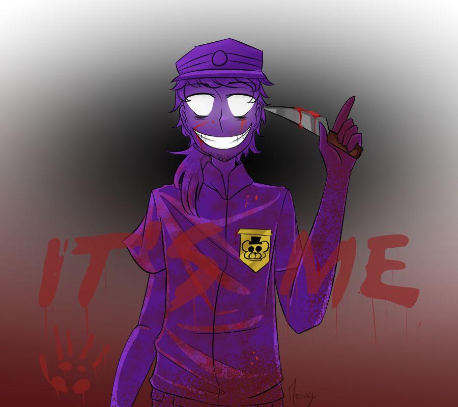 Elusive Murderous Purple Man Anime Fnaf Purple Guy Fnaf Wallpapers