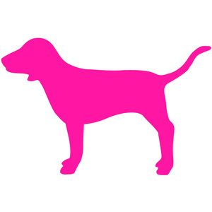 pink dog logo pink mini dog victorias secret pink