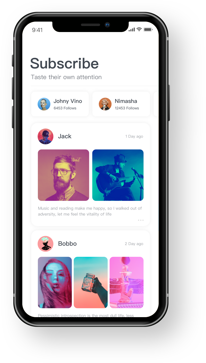 Iphone x dark copy 6 Ios app design, App design