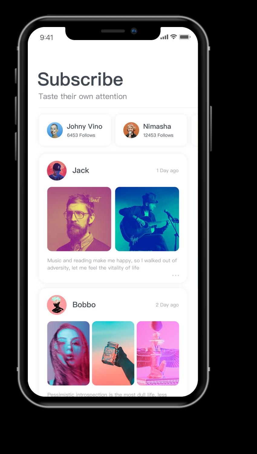 Iphone x dark copy 6 Ios app design, App design
