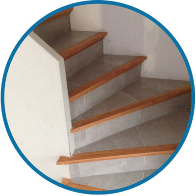 Escalier 1 4 Tournant Beton Gris Lisse Nez De Marche Rond Voute Sarrasine Platree Marche De Depart Arrondi Escalier Beton Escalier Nez De Marche