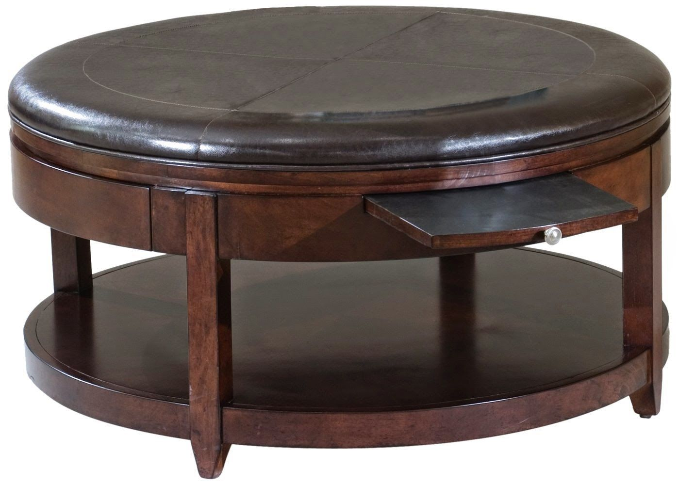 Coffee table brown leather coffee tablen large bernhardt