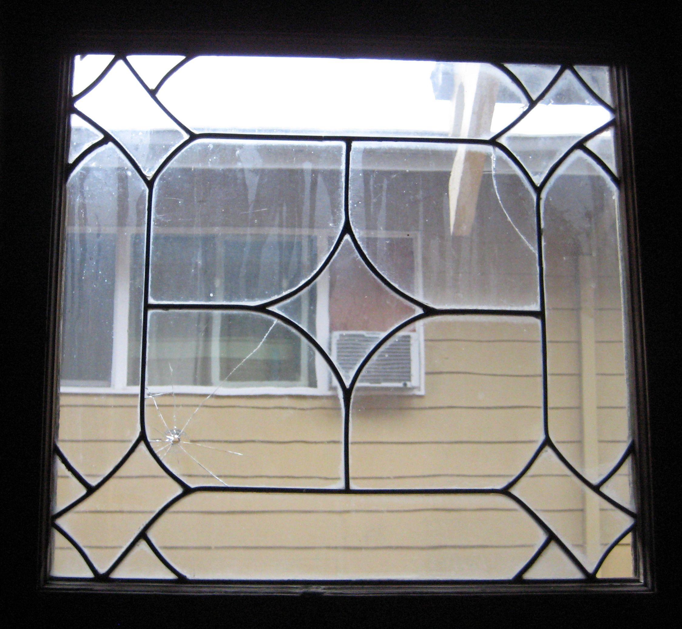 Amazing leaded glass window in Portland, Oregon craftsman ...